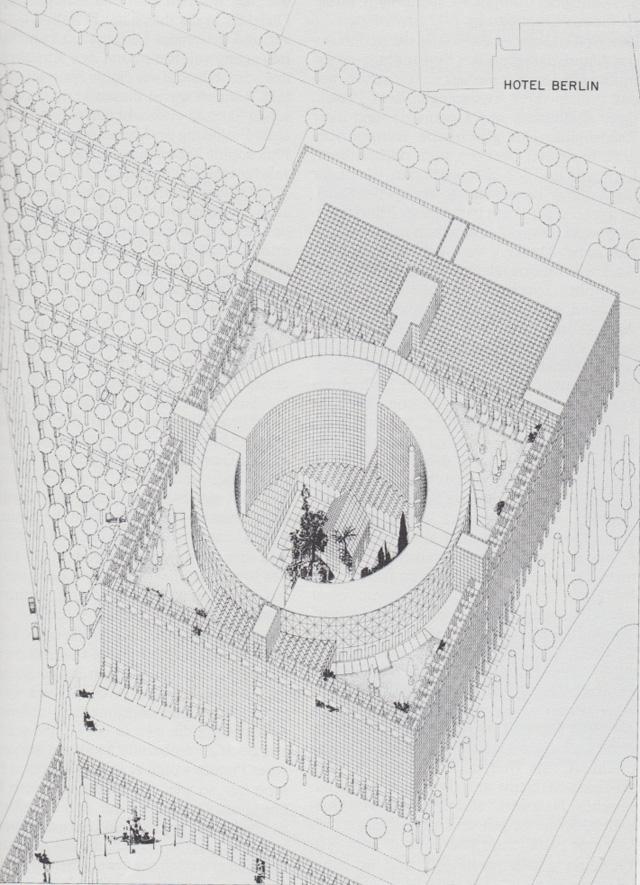 O.M. Ungers - Hotel Berlin, 1977