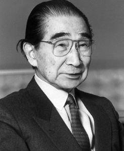 Kenzo Tange, portrait
