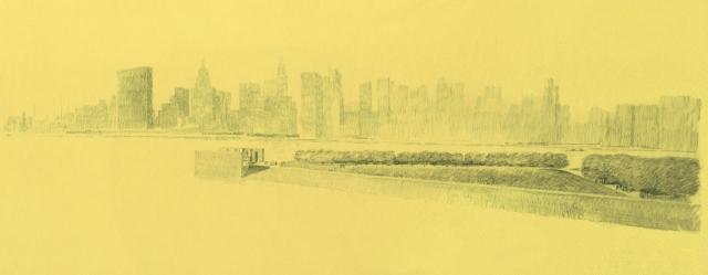 franklin roosevelt four freedom park_drawing