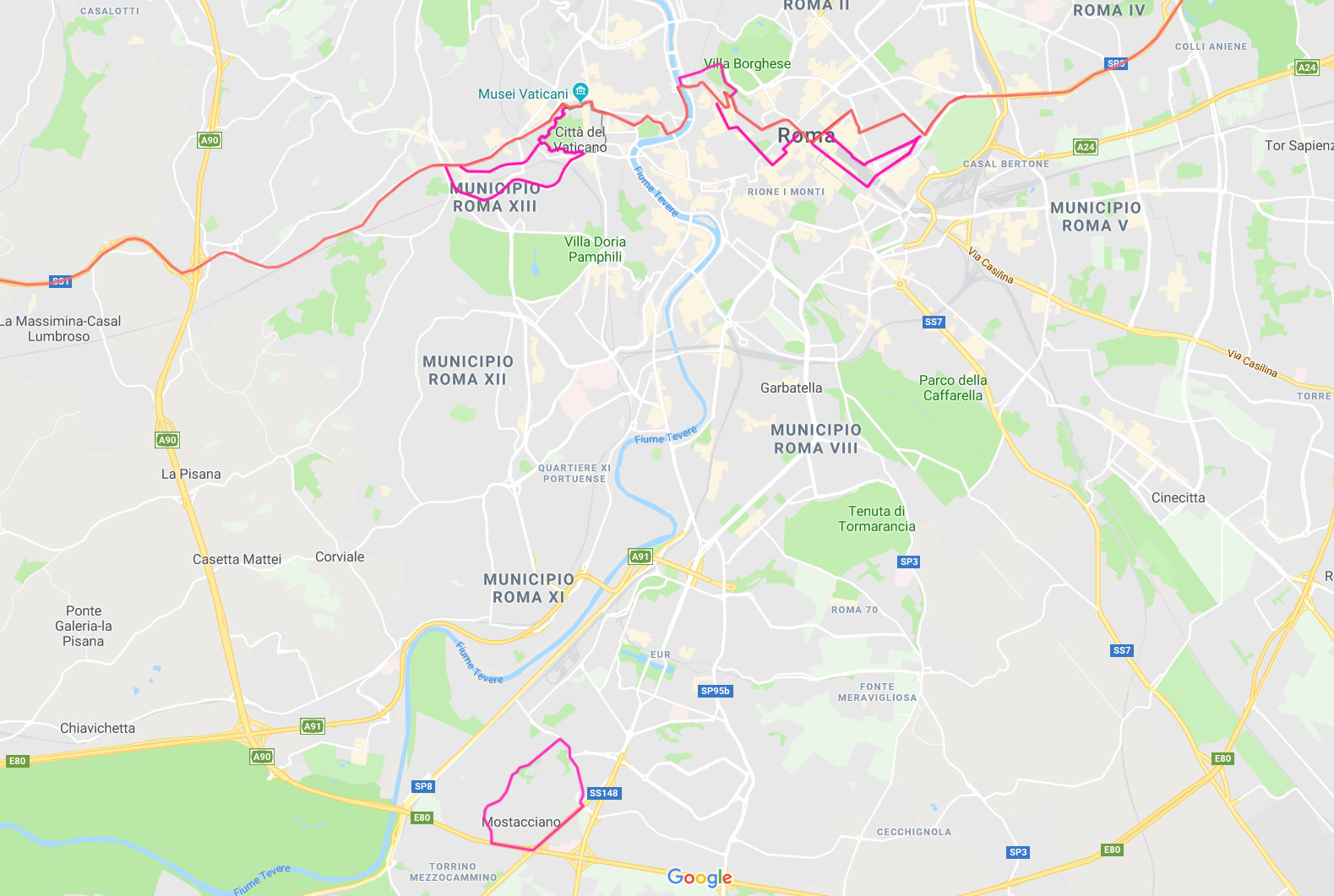Cartina Roma E Provincia.Studi Sui Confini Di Roma Sud E Roma Nord Around Matdaro C